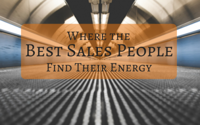 Where the Best Sales People Find their Energy