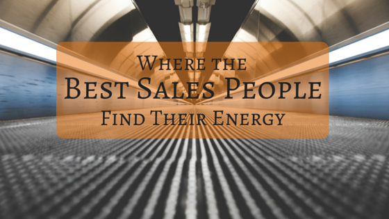 Where Sales people find energy